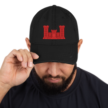 Load image into Gallery viewer, Engineer Distressed Dad Hat