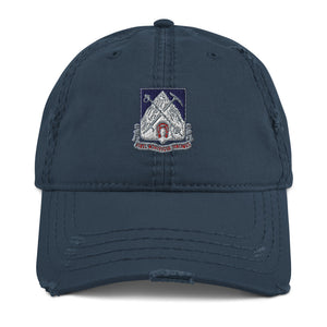 87th Infantry Regiment Distressed Dad Hat