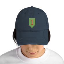 Load image into Gallery viewer, 1st ID Distressed Dad Hat