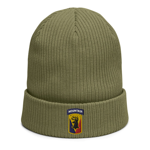 86th IBCT (Mountain) Organic ribbed beanie