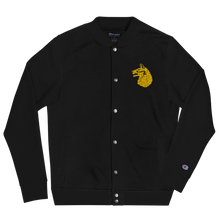 Load image into Gallery viewer, Wolfhound Embroidered Champion Bomber Jacket