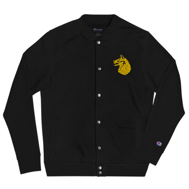 Wolfhound Embroidered Champion Bomber Jacket