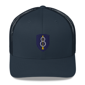 8th ID V2 Trucker Cap