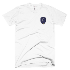 8th Infantry Division Embroidered T-Shirt
