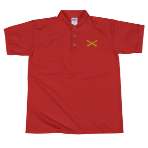Field Artillery 100% Embroidered Polo Shirt