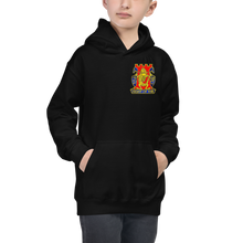 Load image into Gallery viewer, Gold Dragon Kids Hoodie