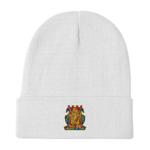Load image into Gallery viewer, Golden Dragon Embroidered Beanie