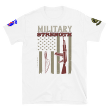 Load image into Gallery viewer, MILITARY STRENGTH TEE