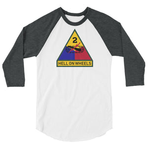 2nd AD 3/4 sleeve raglan shirt