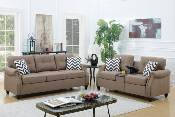 2-Pcs Sofa Set F6412