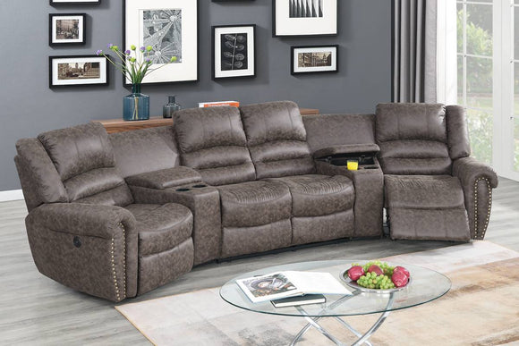 Power Theater Sectional F86601