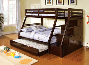 ELLINGTON TWIN/FULL BUNK BED CM-BK611EX