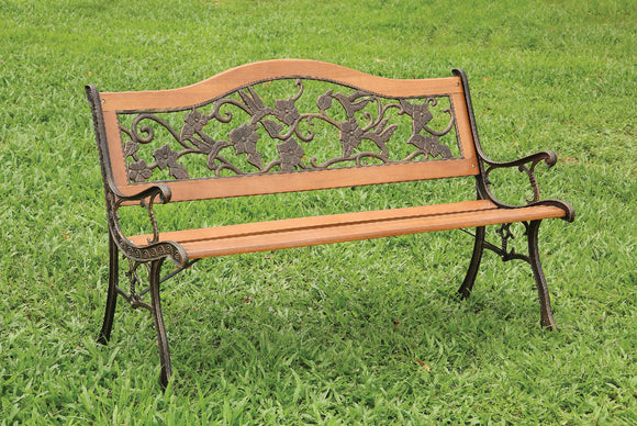 ALBA  PATIO BENCH CM-OB1806