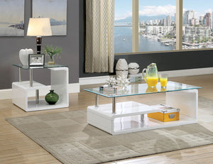 TORKEL  COFFEE TABLE +END TABLE CM4056