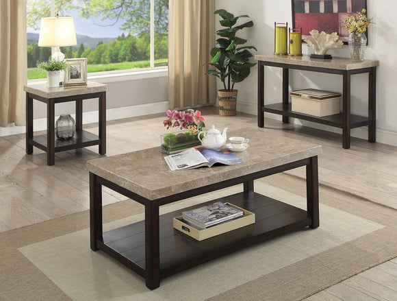 CALGARY COFFEE TABLE+END TABLE+SOFA TABLE CM4861