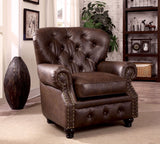 STANFORD CM6269BR  BROWN LEATHERETTE