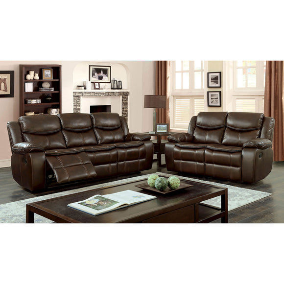 GATRIA  CM6981BR BROWN SOFA / LOVE SEAT / CHAIR