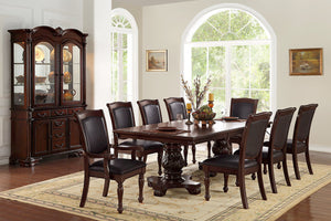 Dining Table + 8 Chairs F2182/F1729/F1730 Or Beffet/Hutch F6069