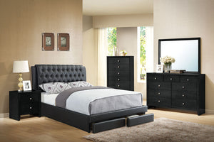 Queen Bed Or California King Bed Or Eastern King Bed F9338