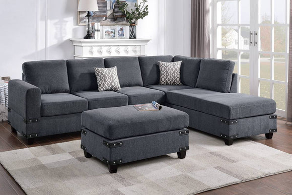 3-PCS SECTIONAL SET F8804