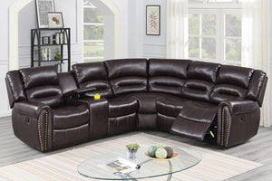 Power Motion Sectional F86613