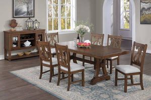 Dining Table F2583 + 6 Chairs F1839 Or Server F6099