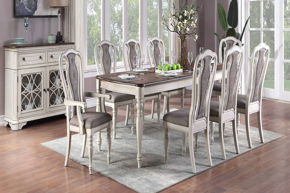 Dining Table F2571 + 8 Chairs Or Server F6001