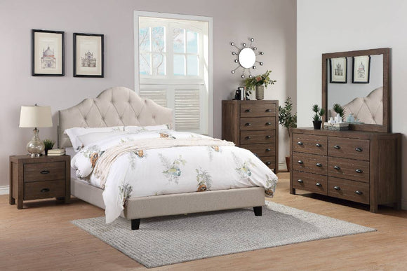 Queen Bed Or California King Bed Or Eastern King Bed F9542
