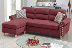 2-Pcs Sectional W/2 Accent Pillow F6449