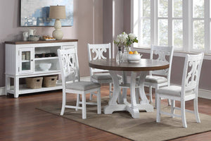 Dining Table F2580 + 4 Chairs F1838 Or Server F6015