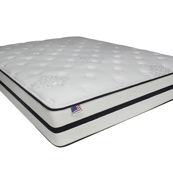 "KASTEL 11.5"" PLUSH TIGHT TOP MATTRESS [NON-FLIP]     DM1430"