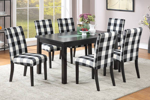 Dining Table + 6 Chairs F2366/F1811