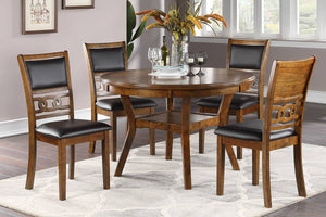 DINING TABLE + 4 CHAIRS F2565/F1813
