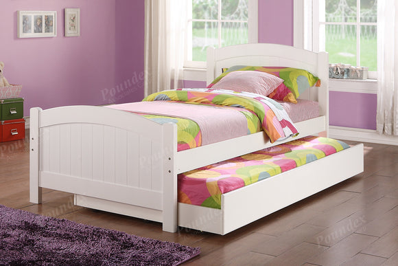 Twin bed w/ Trundle F9218