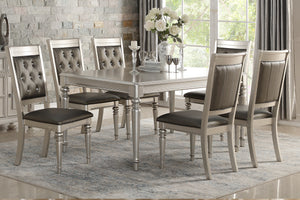 Dining Table + 6 Chairs F2431/F1705 Or Server F6034