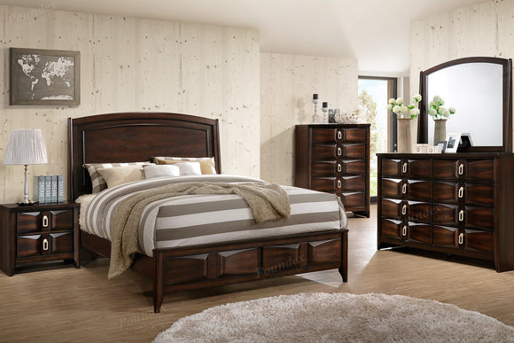 Queen Bed Or California King Bed Or Eastern King Bed F9327