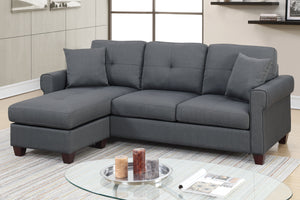 2-Pcs Sectional Sofa F6571