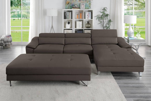 2-PCS SECTIONAL SET F8813