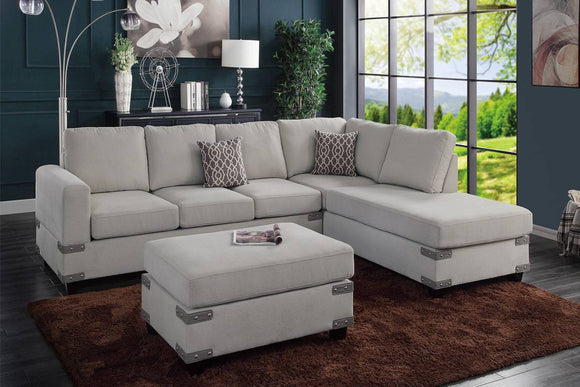 3-PCS SECTIONAL SET F8805