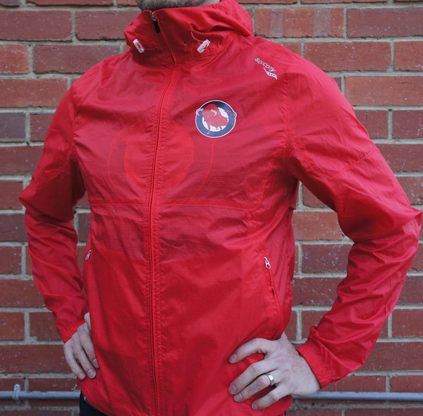 Men's Red Lightweight Jacket