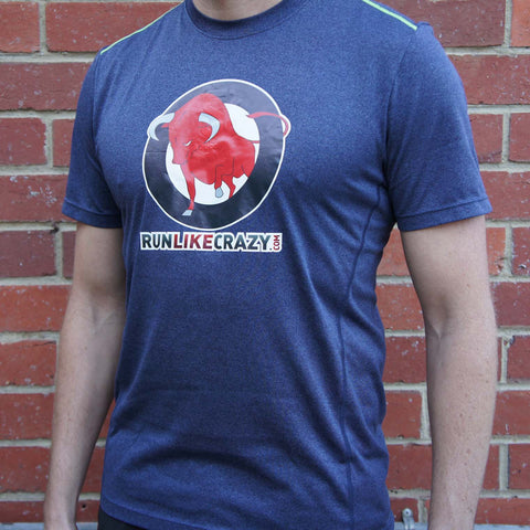 Men's Navy Blue Tech T-Shirt