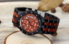 HENOTFamily - Montre chrono - BOIS de Santal