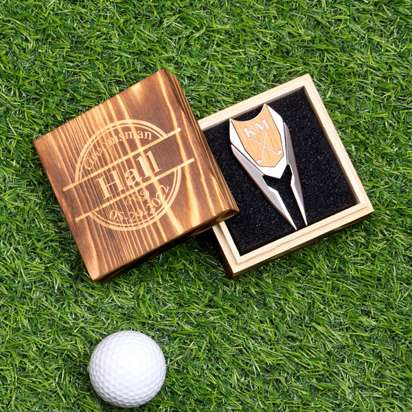 "Golf Ball Folding Divot with 1"" Marker"