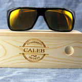 Personalized Wood Sunglasses with custom engraving - uvcea