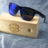 Custom and Personalized Ebony Wood Sunglasses - uvcea
