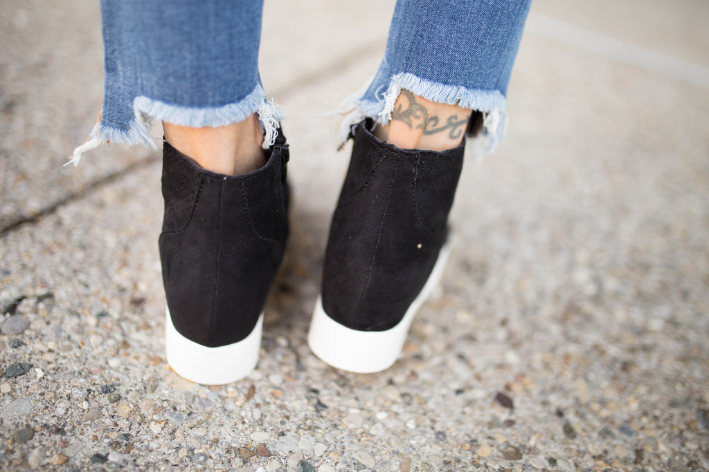 Wedge Sneakers - 3 COLORS!