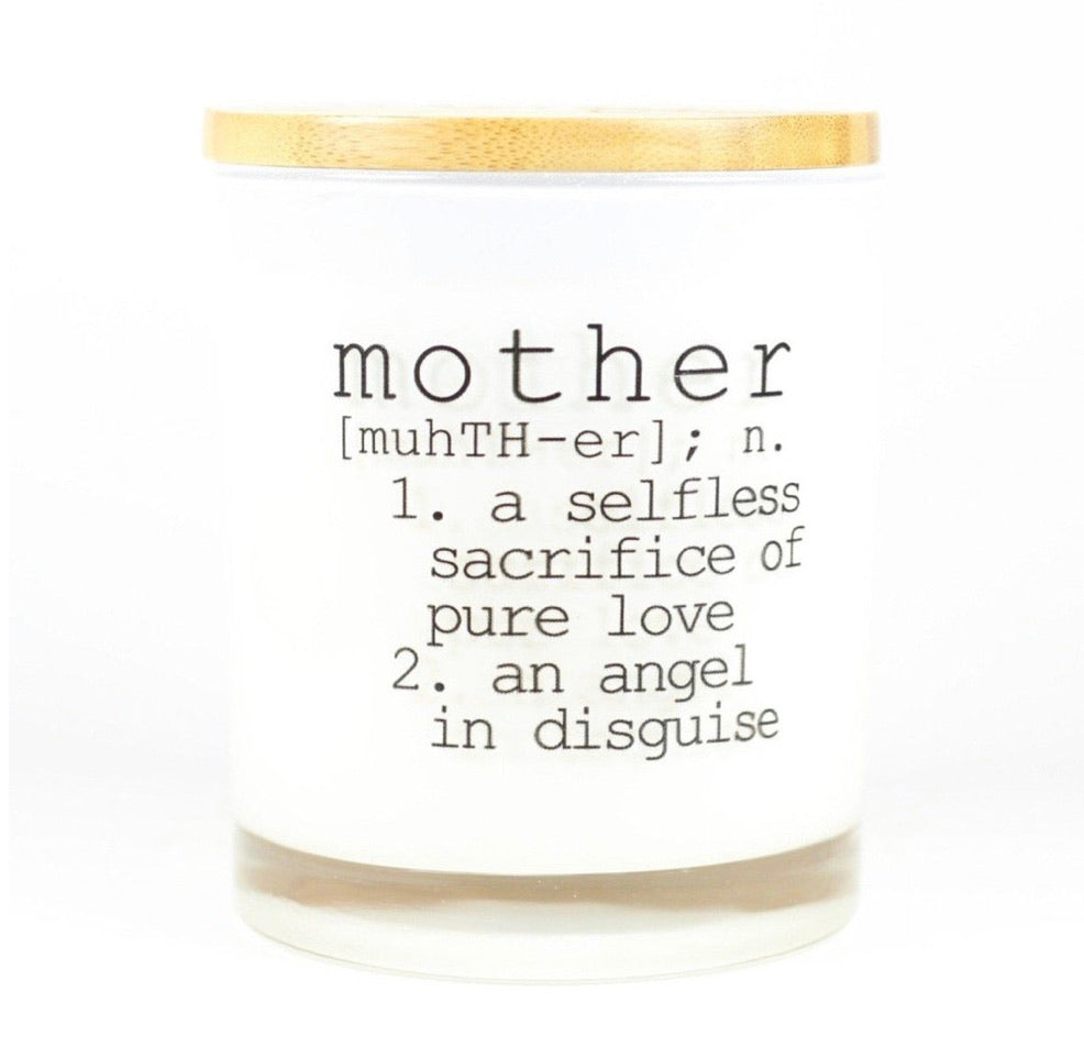 Mother Definition Unplug Soy Candle