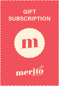 Blend Gift Subscription (SAVE UP TO 16%) - Merito Coffee Roasters