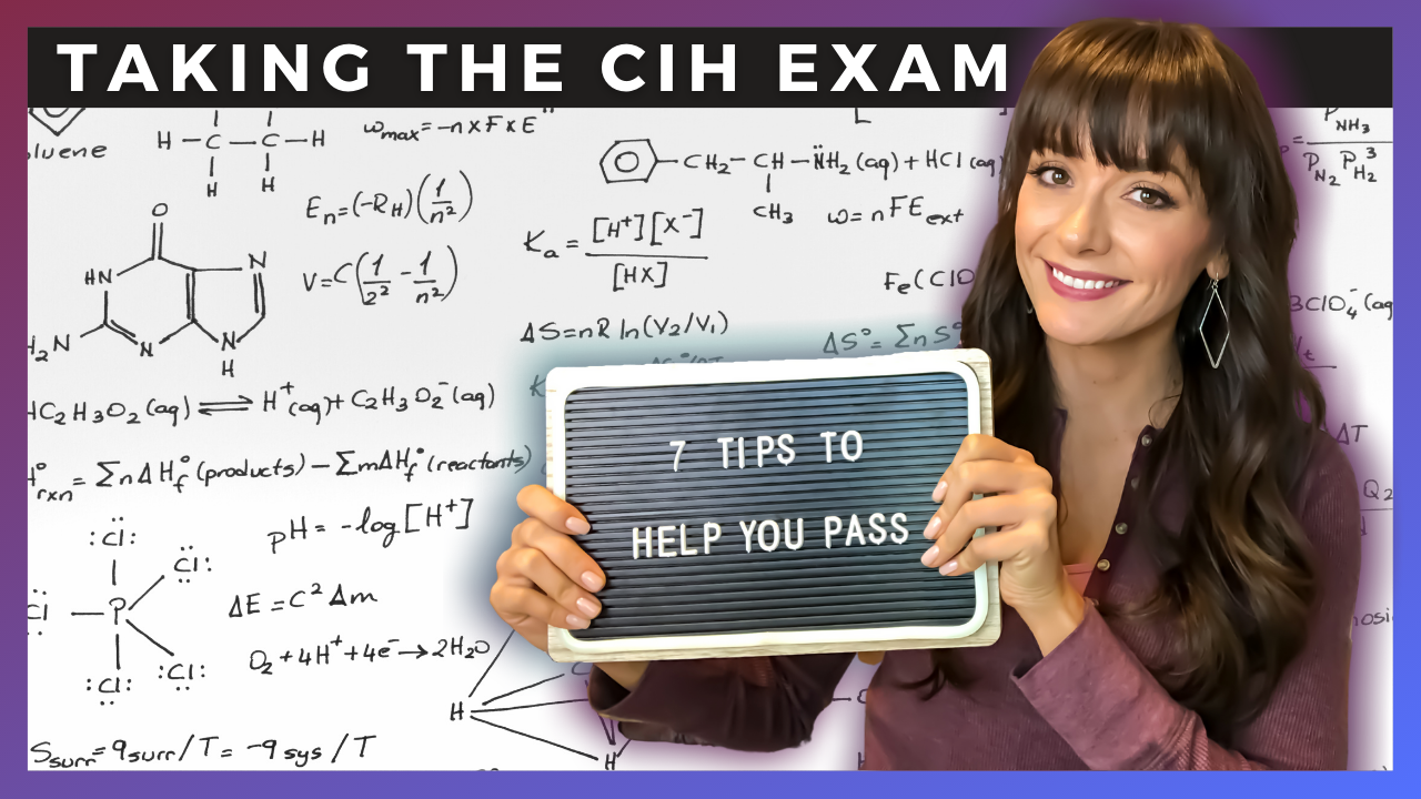 7 Tips to Help You Pass the CIH Exam