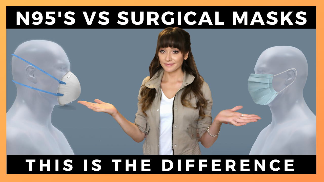 Surgical Masks Vs. N95's